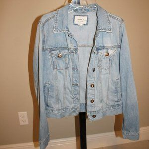 Cute White Wash Jean Jacket